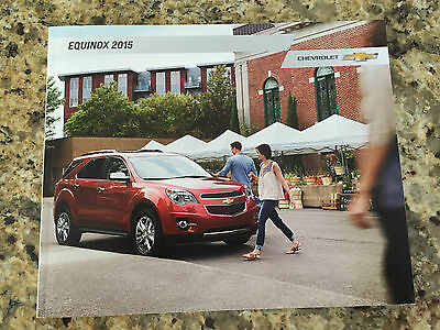 2015 Chevy Equinox 32-page Original Sales Brochure