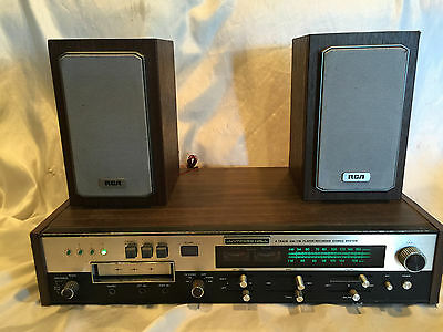 Wynford 8-Track Player/Recorder AM/FM Stereo System RCA Speakers Not Working