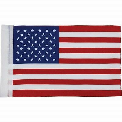"6""x9"" AMERICAN Replacement FLAG Sleeve for 3/8"" Pole Motorcycle Bike US USA"