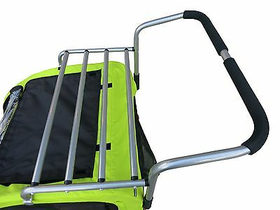 Cargo Rack for Booyah Strollers Large Pet Bicycle Trailer and Dog Stroller