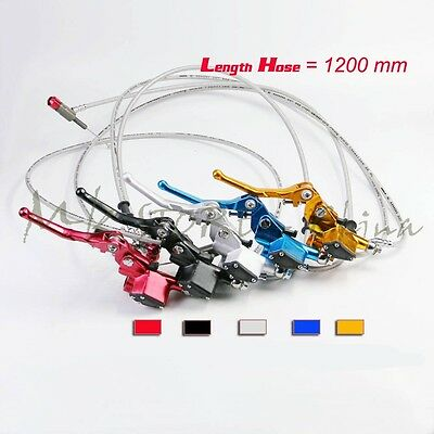 Motorcycle Hydraulic Clutch Lever Master Cylinder kit Dirt Bike ATV QUAD Go Kart