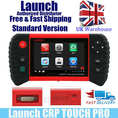 Launch CRP TOUCH OBD2 Garage Live Data Scan Diagnostic Service Tool UK Stock