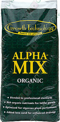 Alpha-Mix Organic Soil Mix 50 Ltr Bag