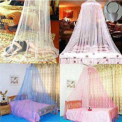 Elegant Round Lace Insect Bed Canopy Netting Curtain Dome Mosquito Net GT