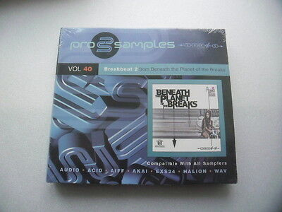 PROSAMPLES Vol 40- Breakbeat 2- From beneath the planet of the breaks - CD NEUF