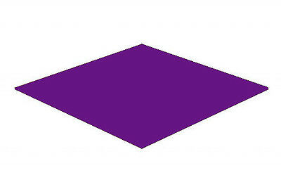 Purple Gloss Acrylic Perspex Sheet Colour Cast Cut to Size Panel Plastic