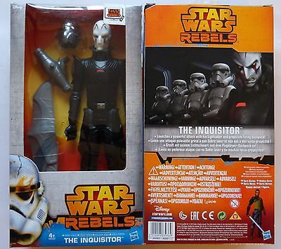 Hasbro A8562 Star Wars Rebels THE INQUISITOR Deluxe Figur 30 cm  Neu & OVP