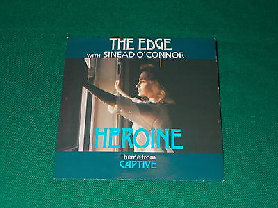 The Edge With Sinéad O'Connor ‎– Heroine (Theme From 'Captive')  7'  usato