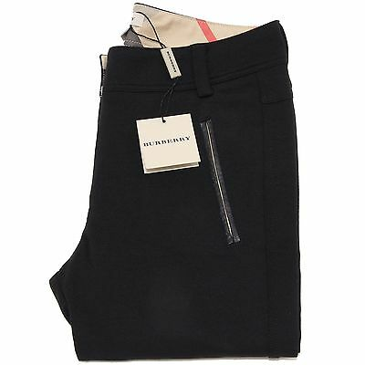 8441L jeggings bimba neri BURBERRY pantaloni pants kids