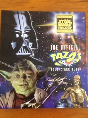 Star Wars Tazo Empty 3 Ring Binder/Album Gr8 For Any Project