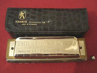 Hohner Chromonica 260 Key Of G With Case