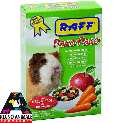 PACO PACO alimento completo per porcellini d'india 700gr food guinea pigs RAFF