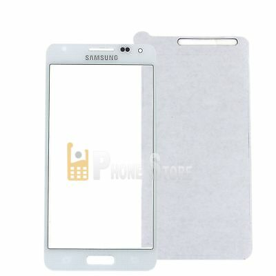 Original Samsung Galaxy Alpha SM-G850F LCD Display Glas Scheibe weis