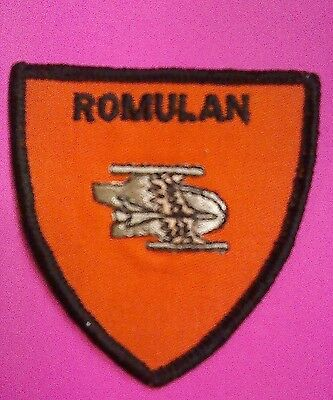 STAR TREK PATCH Romulan classic bird of prey badge unused VINTAGE