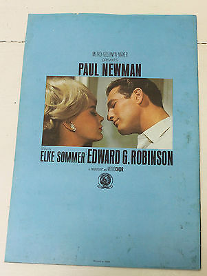 Paul Newman 'The Prize' Vintage Movie Programme Program Memorabilia Theatre