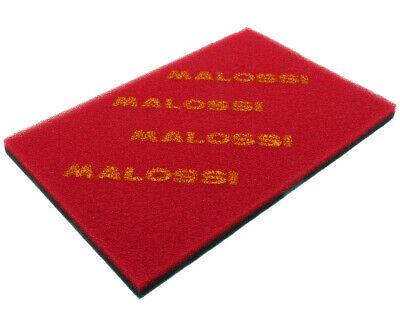 MALOSSI Luftfilter Luftfiltermatte Double Red Sponge 300x200x17mm universal