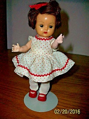1950's Nancy Ann Storybook 8 inch Strung SLW Muffie Branded in Original  Outfit
