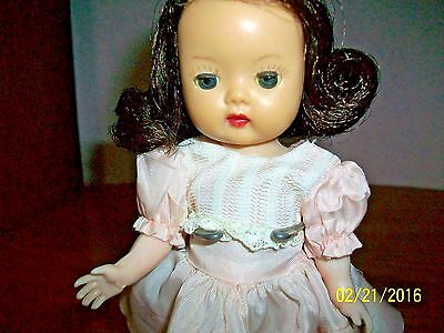 1953 Nancy Ann Storybook 8 inch Strung ,SLW, Muffie in Original Outfit
