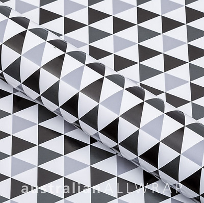 Bunting, Black & Grey Wrapping paper,counter roll, gift wrap,500mm x 50m