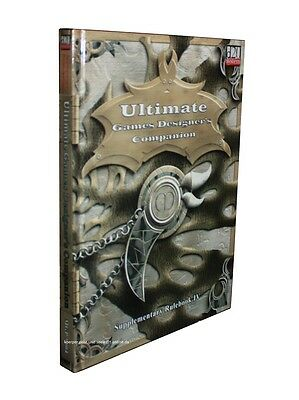 Ultimate Games Designer´s Companion-Rulebook IV-d20-RPG-(HC)-engl.-very rare