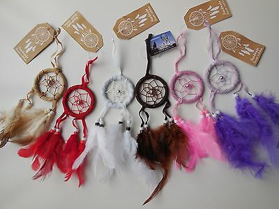 DREAM CATCHER *Small *Car *Wall *Hanging *Gift *Wedding *Party *Colors NEW