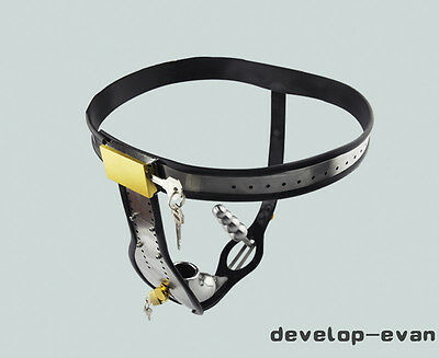 Amazing Price Stainless Steel Male Underwear Chastity Belt For Party A182-1