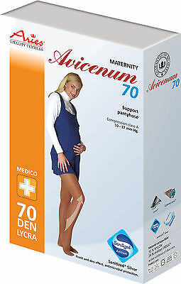 Pregnancy Graduated Compression Pantyhose Preventive 10-18mmHg Support Tights