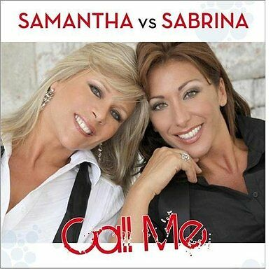 CD Samantha Fox Sabrina Salerno CALL ME Dance Music