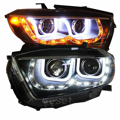 Vland LED Headlight For 2008-2010 Toyota Highlander Kluger Head Lamp UU-Style
