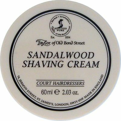 Taylor of Old Bond Street Small Sandalwood Shaving Cream Bowl