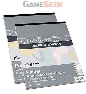 Daler Rowney Murano Pastel Pad Neutral 12x9