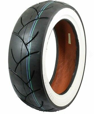 Honda Grom Naidun Whitewall 130-70-12 Tire 130/70-12 GY6-- MSX125 Rear Tire