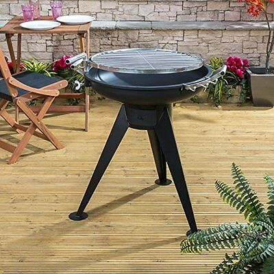 Movable Charcoal Barbecue Outdoor Garden Patio Camping Grenada Steel Grill