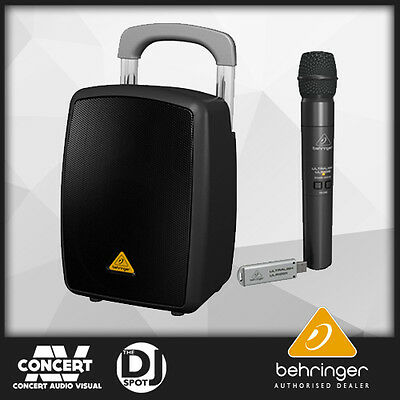 Behringer-MPA40BTPro Battery Power Bluetooth PA-System with WIRELESS MICROPHONE