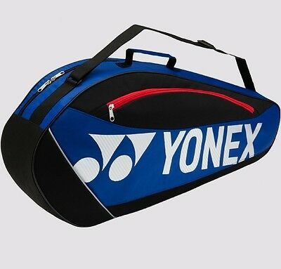 YONEX Club Series Racquet Bag 5723EX (3-Pcs) w/Shoe Compartment, Blue 2017 New