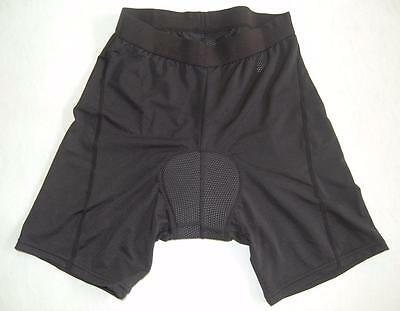 Cycling bike spin class light padded Black underpants knick shorts uni sex J