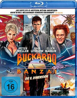 The Adventures of Buckaroo Banzai Across 8th Dimension NEW Classic Blu-Ray Disc