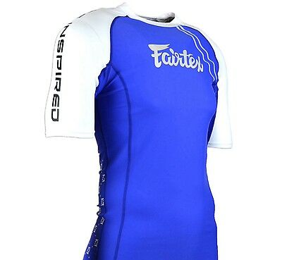 Fairtex Rash Guard Short Sleeve - RG2 - Muay Thai MMA Kick Boxing