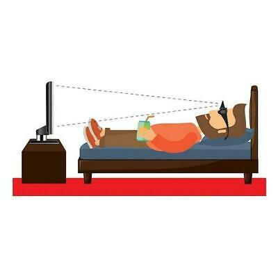 Couch Potato's Glasses - Horizontal Mirror Spectacles Lying Down Reading Watchin