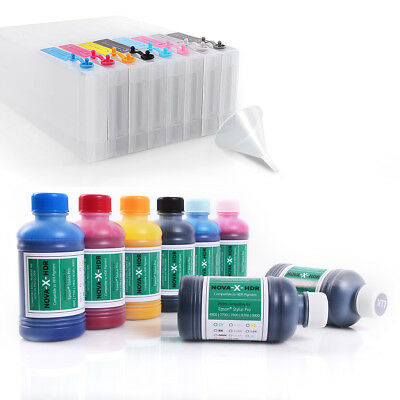 All Inclusive Set | 250ml | NOVA-X® HDR Tinte kompatibel Epson Stylus Pro 4900