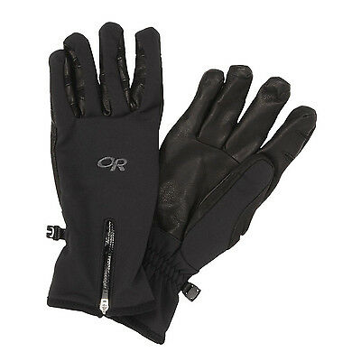 NEW Outdoor Research StormTracker Glove Men's Large BLACK NWT