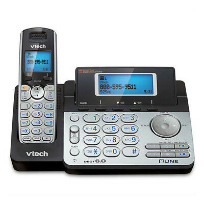 Vtech DS6151 DECT 6.0 1 Handset 2Line Cordless Phone w/ Digital Answering System