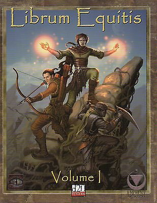 Librum Equitis-Volume 1-Roleplaying Game-d20-(SC)-Mystic Eye Games-Mängelexe.