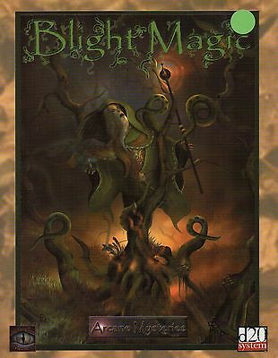 Blight Magic-Arcane Mysteries-RPG-Roleplaying Game-d20-(SC)-Mystic Eye Games