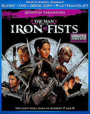 The Man with the Iron Fists  (Two-Disc C Blu-ray