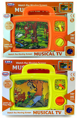 Childrens Childs Baby Kids Moving Screen Musical Tv Soothing Nap Time Toy
