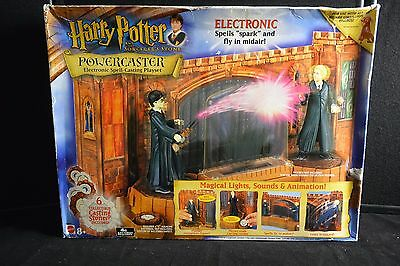 Harry Potter & Sorcerers Stone: Powercaster Electronic Spell-Casting Play #3928