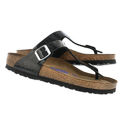 CLEARANCE Birkenstock BF Gizeh Magic Galaxy Black SOFT FOOTBED BNIB 847441