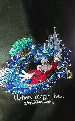 """Mickey Mouse Disney """"Where Magic Lives""""  large tote/shopping bag"""