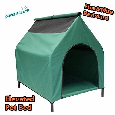 ELEVATED TRAMPOLINE HAMMOCK CAT DOG PUPPY PET BED HOUSE with Removable Cover